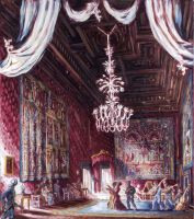 immagine Palais Farnese; le Salon Rouge