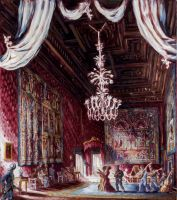 immagine Farnese Palace; the Red Room during a concert