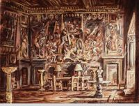 immagine Farnese palace (Rome), Hall of the splendours of the Farnese